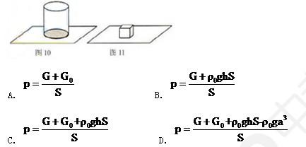 浮力知识网络结构图