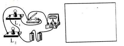 中考理综物理考点调研题 电路图的画法与实物电路的连接