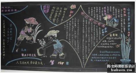 关于热爱劳动的黑板报_五一劳动节_精品学习网