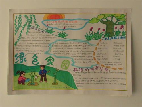 保护环境的手抄报内容 绿色家园