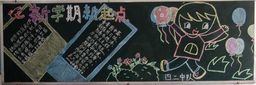 小学生开学了黑板报内容选集