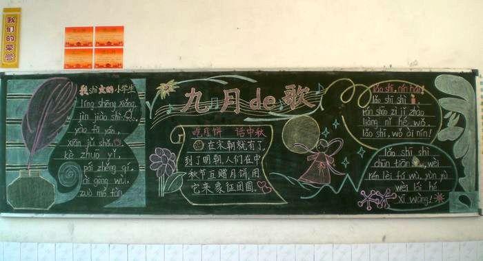幼兒園開學黑板報資料;