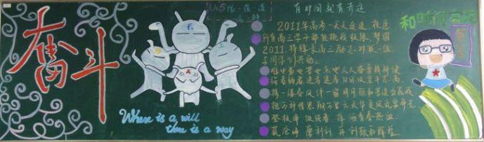2014小学生快开学了黑板报资料选