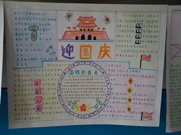 欢庆国庆手抄报资料选集