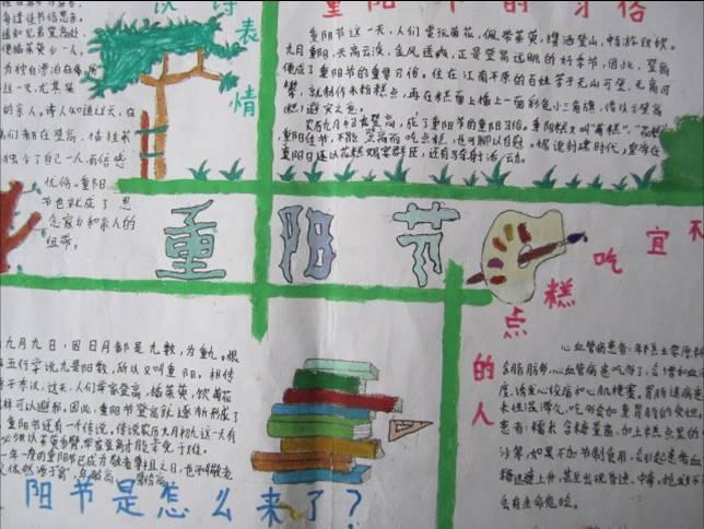 重阳节手抄报资料选集_手抄报_精品学习网