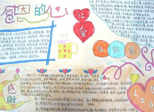 感恩节手抄报版面设计图由精品学习网独家提供,感谢大家阅读!让这