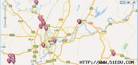 重庆市就业地图 快捷又便民