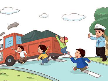 小学生道路交通安全知识:步行行走须知