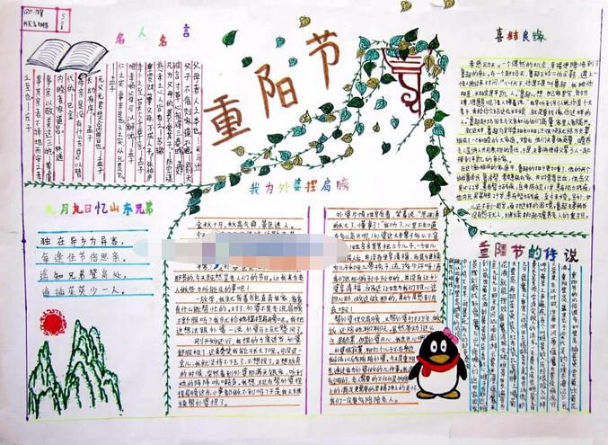 相关推荐: 四年级重阳节手抄报内容:夕阳红   有关盲人节的手抄报