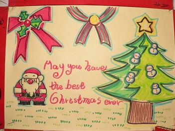 2015年圣诞节贺卡素材:圣诞快乐