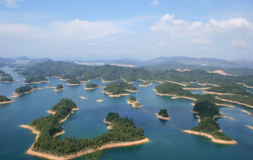 开辟了春到千岛湖,千岛湖之夏,千岛湖金秋,观光度假游,娱乐休闲游,水