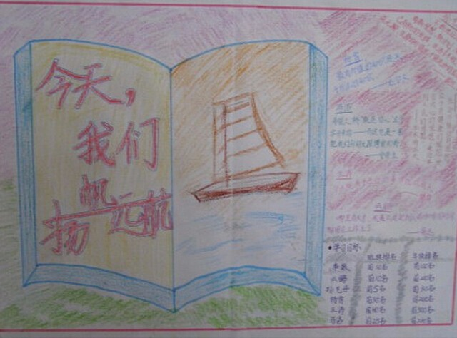 手抄报  各科目期中复习小报: ◆期中物理复习◆生物知识大集合◆中国