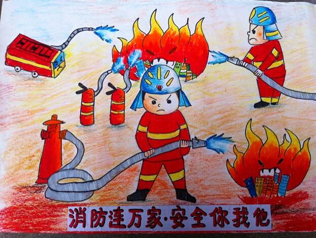 """""""119消防安全""""小学生消防手抄报大全"""