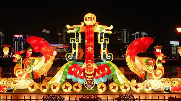 经典酒店元宵节场景布置欣赏