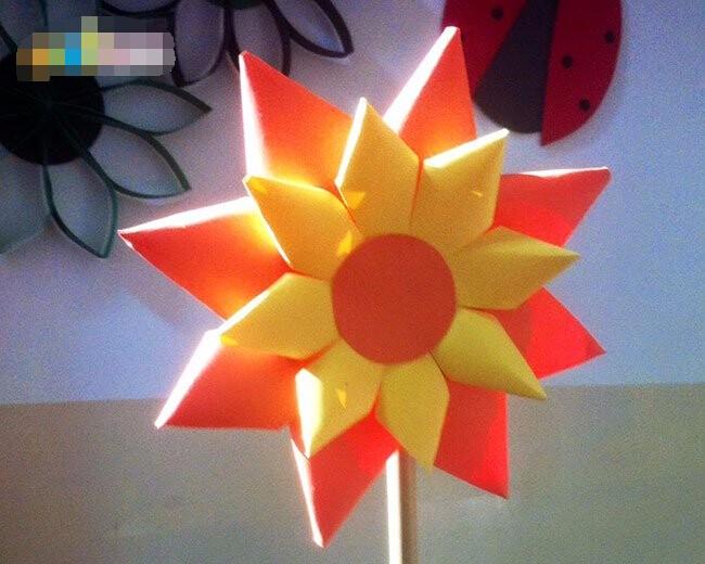 妇女节手工制作立体花朵