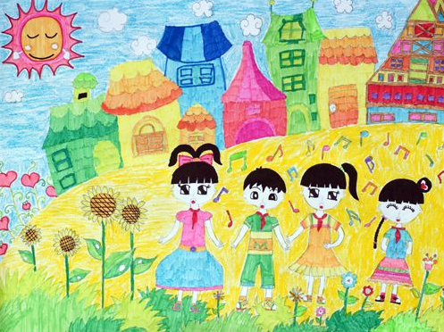 小学一年级语文快乐的节日教案封面图片