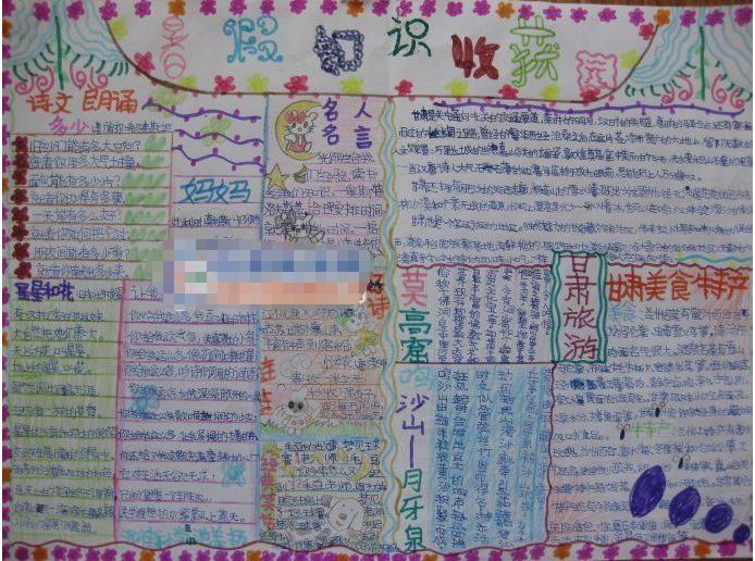 生 高中生】 【寒假手抄报素材库    黑板报设计   中小学生寒假日记