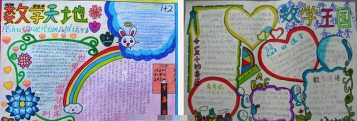 如下: 【小学生暑假数学手抄报:学数学】 【二年级暑假数学手抄报