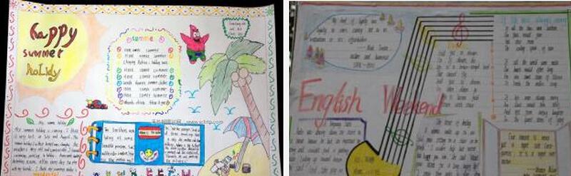 2016暑假英语手抄报精选,让你轻松学习英语知识!
