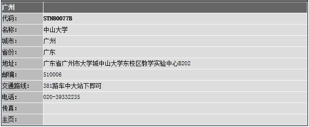 广东广州GRE考试考点(2016)_报考指南