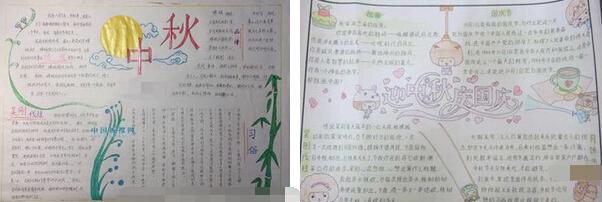 月圆中秋-2016年中秋节手抄报参考(6篇)