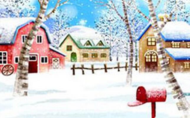 冬天的校园写景作文高中