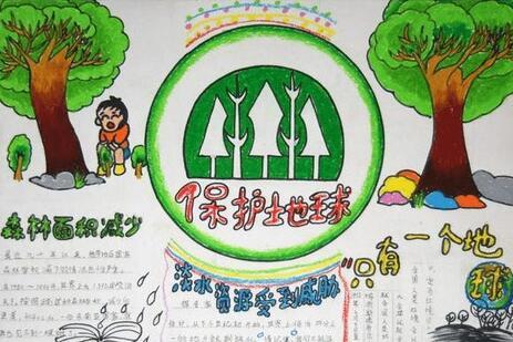 2017保护地球手抄报参考篇【保护地球】