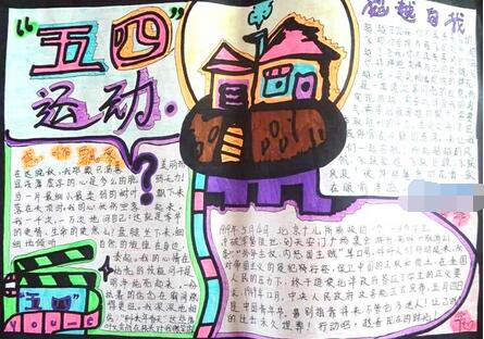 五四青年节-五四青年节手抄报素材参考