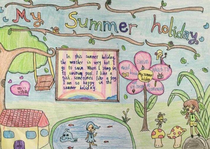 小学生英文名片制作-小学生英文名片样本-小学生名片制作-小学生植物图片