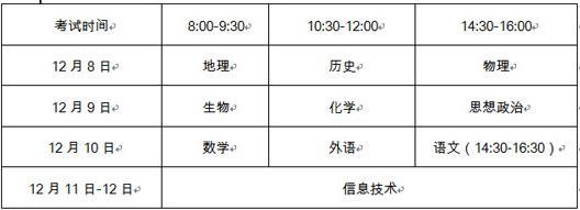 普通高中语文课程标准2017 山东2017年冬季普通高中学业水平考试报名工作通知