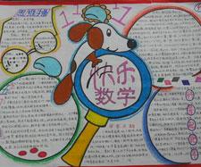 六年级数学圆的手抄报内容图片